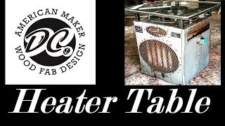 DC.OLD BRYANT HEATER TABLE