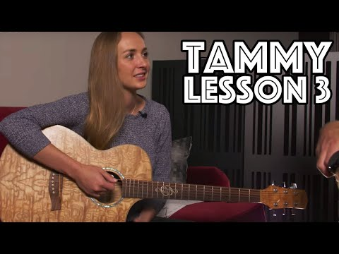 Tammy Guitar Lesson 3: Notes On Neck, Chord Progressions, Rhythm & Strumming, Barre Chords,& more!