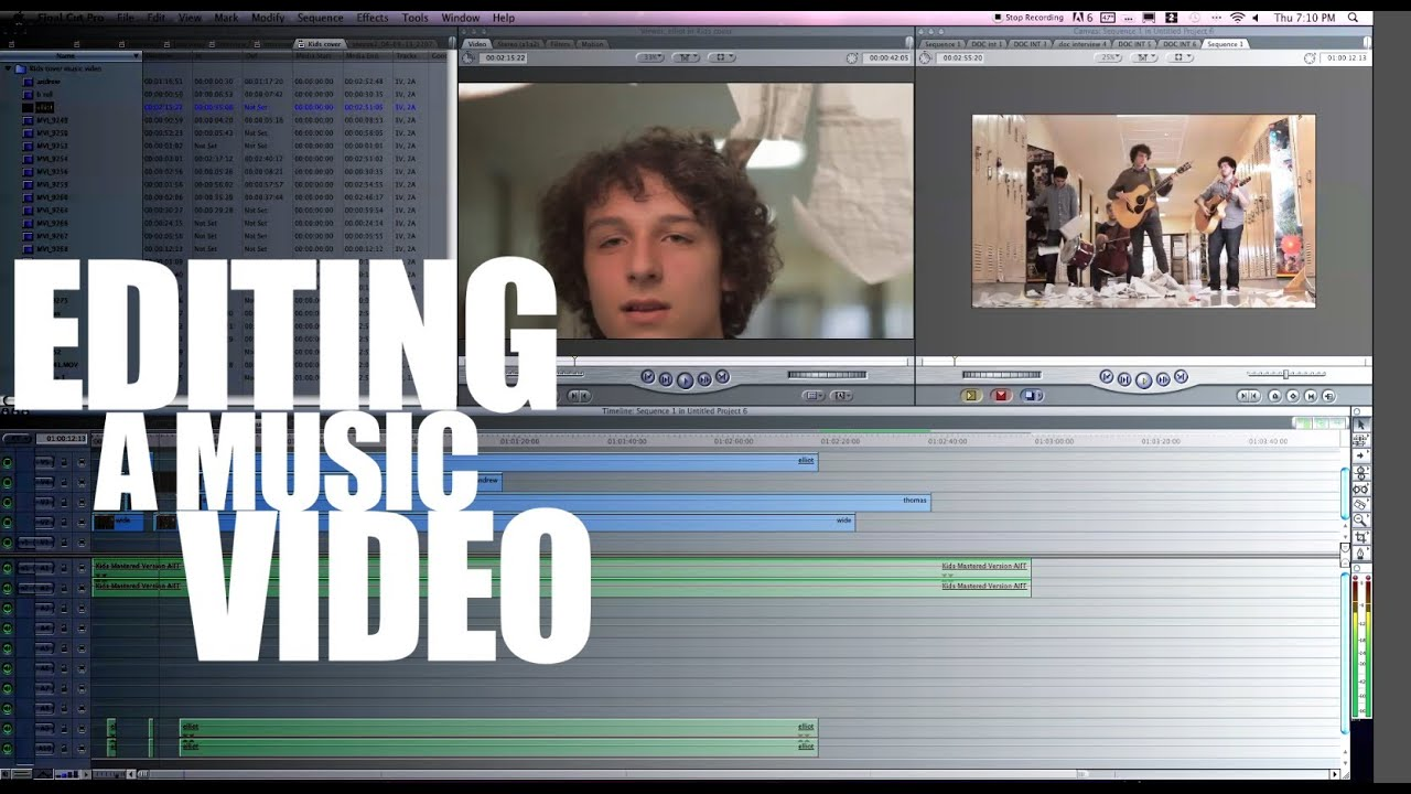 How to edit a music video tutorial youtube ccuart Choice Image