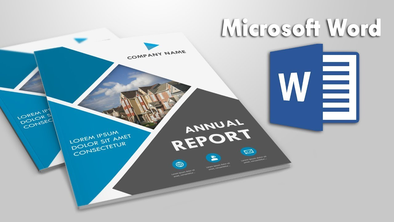 Business Report Cover Page Design Template in MS Word #24 + Free With Technical Report Cover Page Template