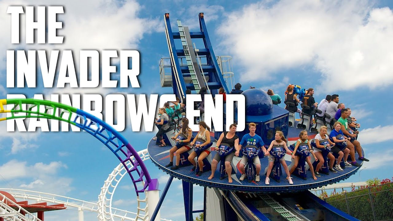 Image result for invader ride rainbows end