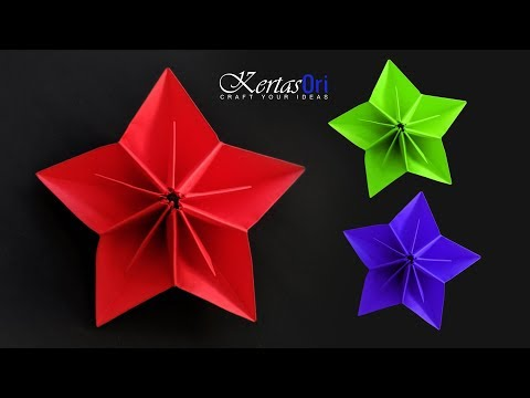 DIY - Very Easy Paper Flower For Decoration | Paper Crafts | Home Decoration