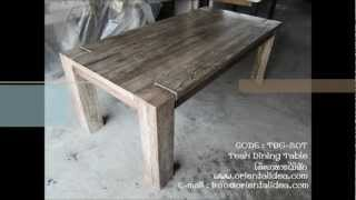 Teak Dining Table Code : Tbg-20t