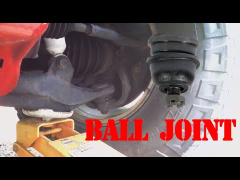 Lower Ball Joint >> How To Check Your Lower Ball Joint (Land Cruiser 100 Series) - YouTube