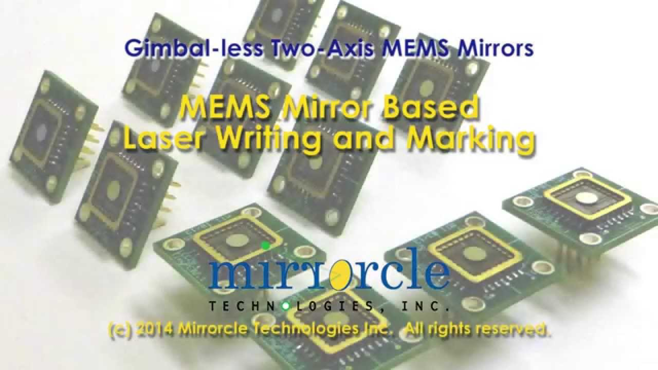 Laser Marking with Mirrorcle MEMS Mirrors