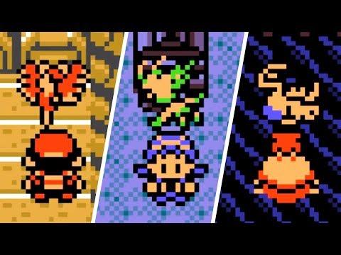 Pokémon Gold / Silver / Crystal - All Legendary Pokémon Locations