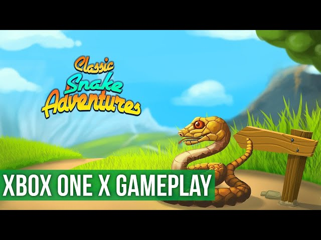 Classic Snake Adventures - Gameplay (Xbox One X) HD