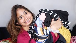 php 10,000 clothing haul, korean bbq, appointments, and giveaway!