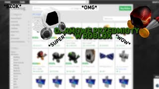 FREE ITEMS IN ROBLOX! PROMOCODES | 2019 [NOT CURRENT]