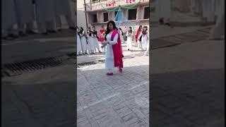 Beautiful girl dance on beautifull song