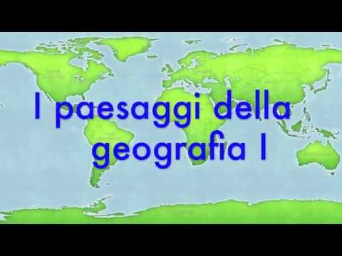 I paesaggi della geografia prima parte  YouTube