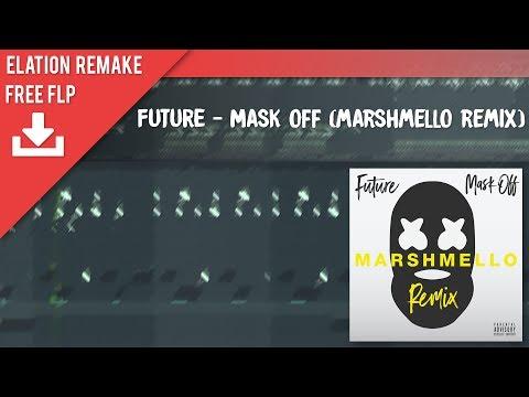 Future - Mask Off (Marshmello Remix) (FL Studio Remake + FREE FLP)