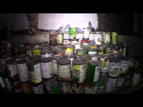 Thumbnail: Old Abandoned Two Family Home, Creepy Dirt Basement full of Canned Goods