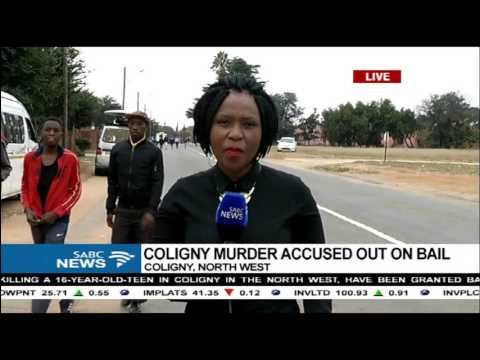 Coligny tense, after murder-accused bail decision