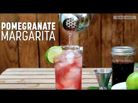 Pomegranate Margarita Tequila Cocktail Recipe