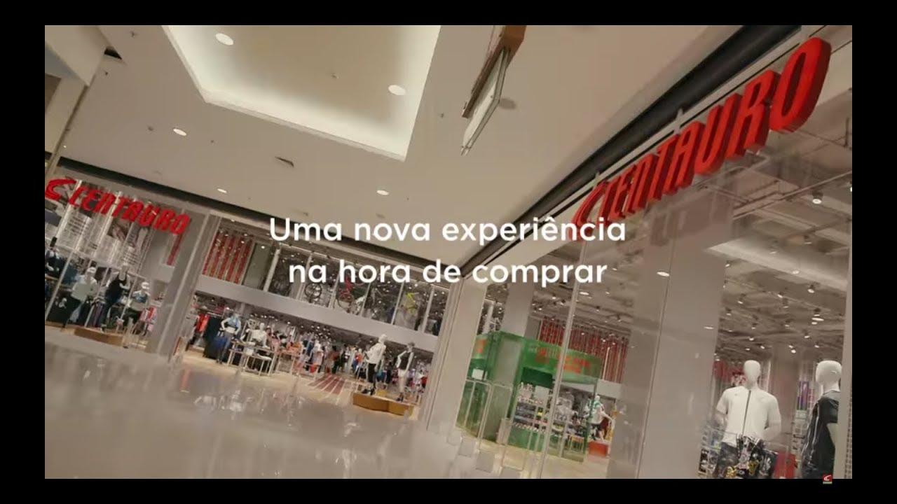 604d141543 Nova Loja Centauro  Viva essa Experiência! Shopping Anália Franco SP ...