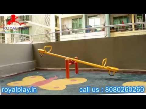 Kids Garden Play Equipment (SS02) See Saw