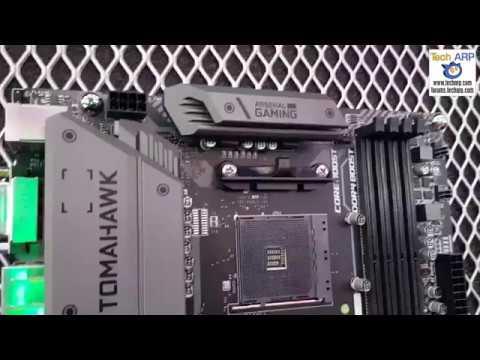 MSI B450 Tomahawk + MSI B450-A PRO Preview