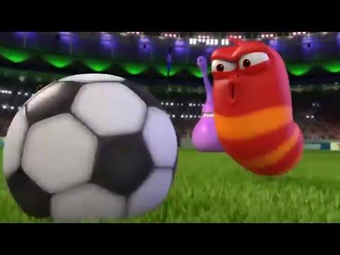 larva-|-voetbalwedstrijd-|-cartoons-voor-kinderen-|-larva-cartoon-|-wildbrain