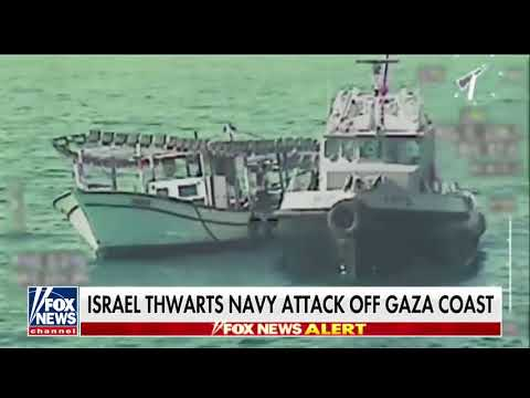 Attack On Israeli Naval Forces Stopped Off Coast Of Gaza