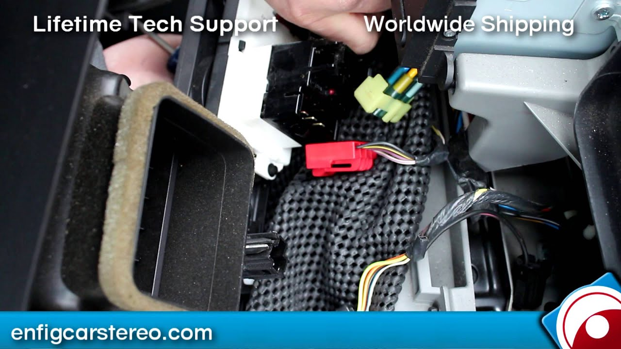 hight resolution of ford f250 350 450 550 radio removal 2005 2007