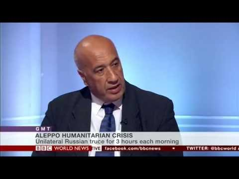 BBC World News Russian strikes in Aleppo