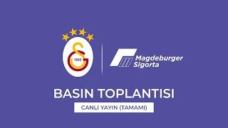🔴 📺 Galatasaray & Magdeburger Sigorta sponsorluk anlaşması imza töreni