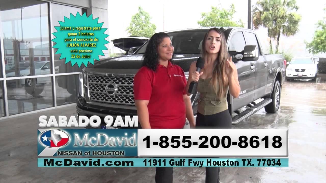 McDavid Nissan Promo. Azteca Houston 51