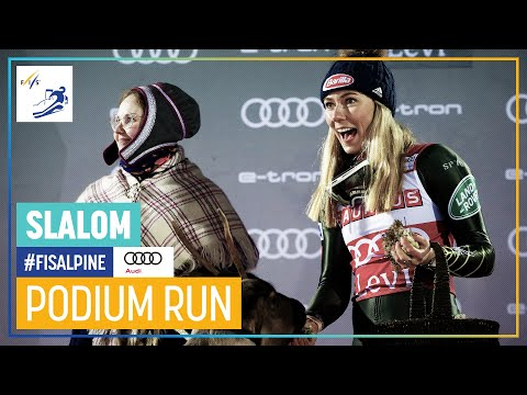 Mikaela Shiffrin   Women's Slalom   Levi   1st place   FIS Alpine