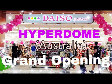 Daiso Japan - (Australia) Grand Opening Day