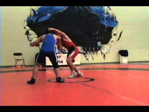 2010 Ontario Junior Championships: 74 kg DJ Webb vs. Eric Jacobson