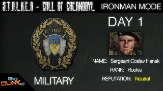 S.T.A.L.K.E.R. - Call of Chernobyl - Ironman - DAY 1 - Sgt Caslav Hanak, Military