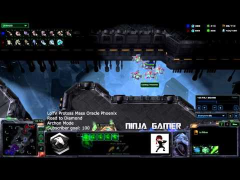 Epic Battle Mass Oracle Phoenix   Starcraft 2 Legacy of the Void HD Ultra