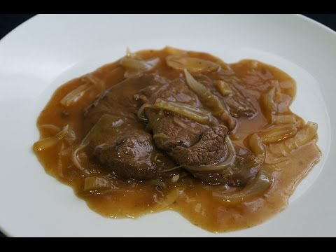 Escalopes de ternera con salsa de marsala   Recetas bajas en calorías