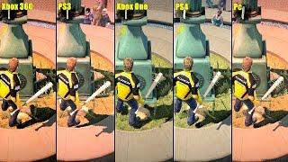 Dead Rising 2 Remaster Pc Vs PS4 Vs Xbox One Vs PS3 Vs Xbox 360 Graphics Comparison