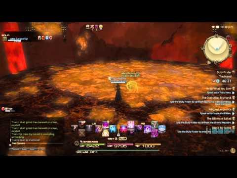 FFXIV Heavensward Titan Solo Summoner
