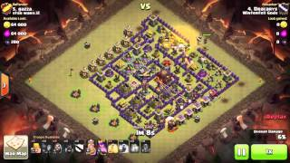 Clash of Clans - TH10 - GoHo - War 105 vs star wars 2 - Dracarys vs #5