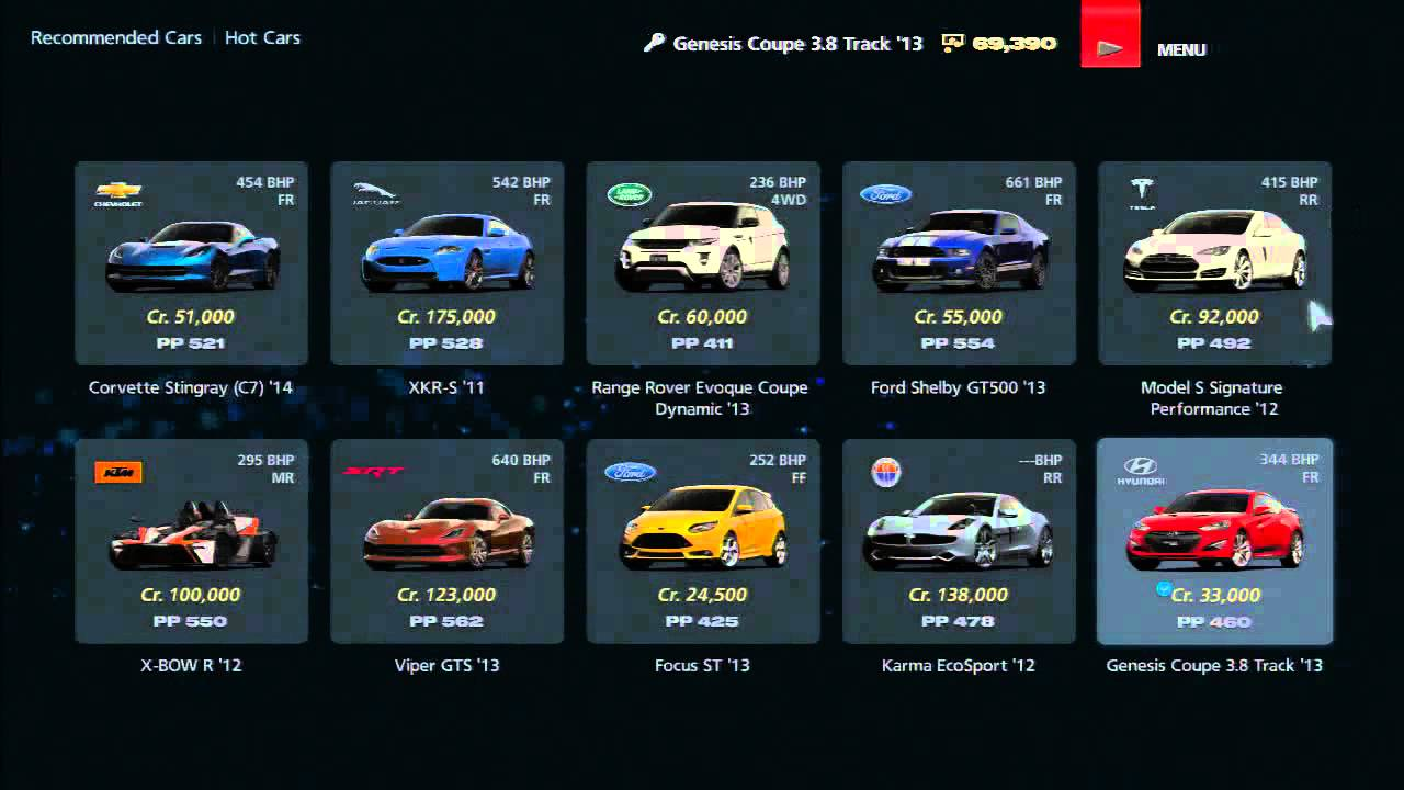 gt6 buying car tuning and gt autos full youtube. Black Bedroom Furniture Sets. Home Design Ideas