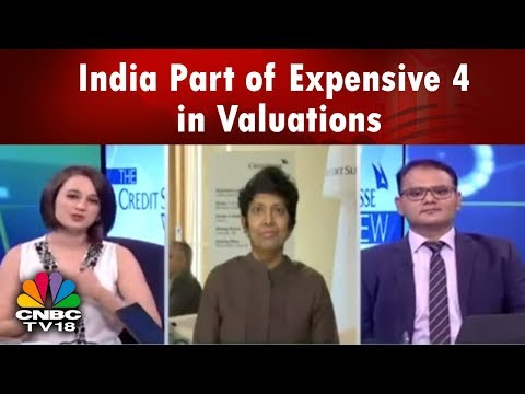 THE CREDIT SUISSE | India Part of Expensive 4 Club in Terms of Valuations: Sakthi Siva | CNBC TV18