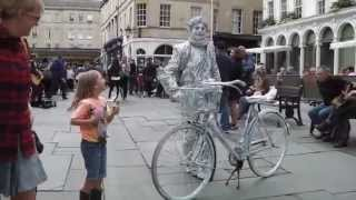 Living Statue Street Performer in Bath UK