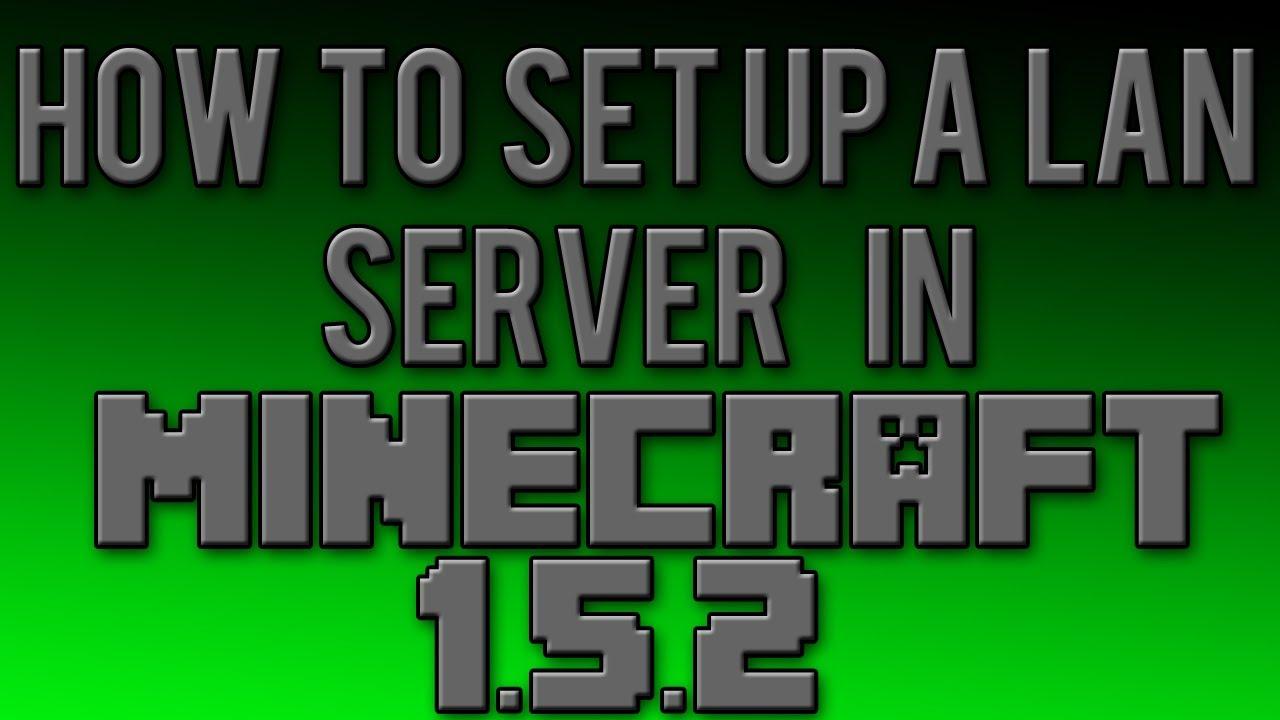 How To Set Up A Minecraft LAN Server YouTube - Minecraft local server erstellen