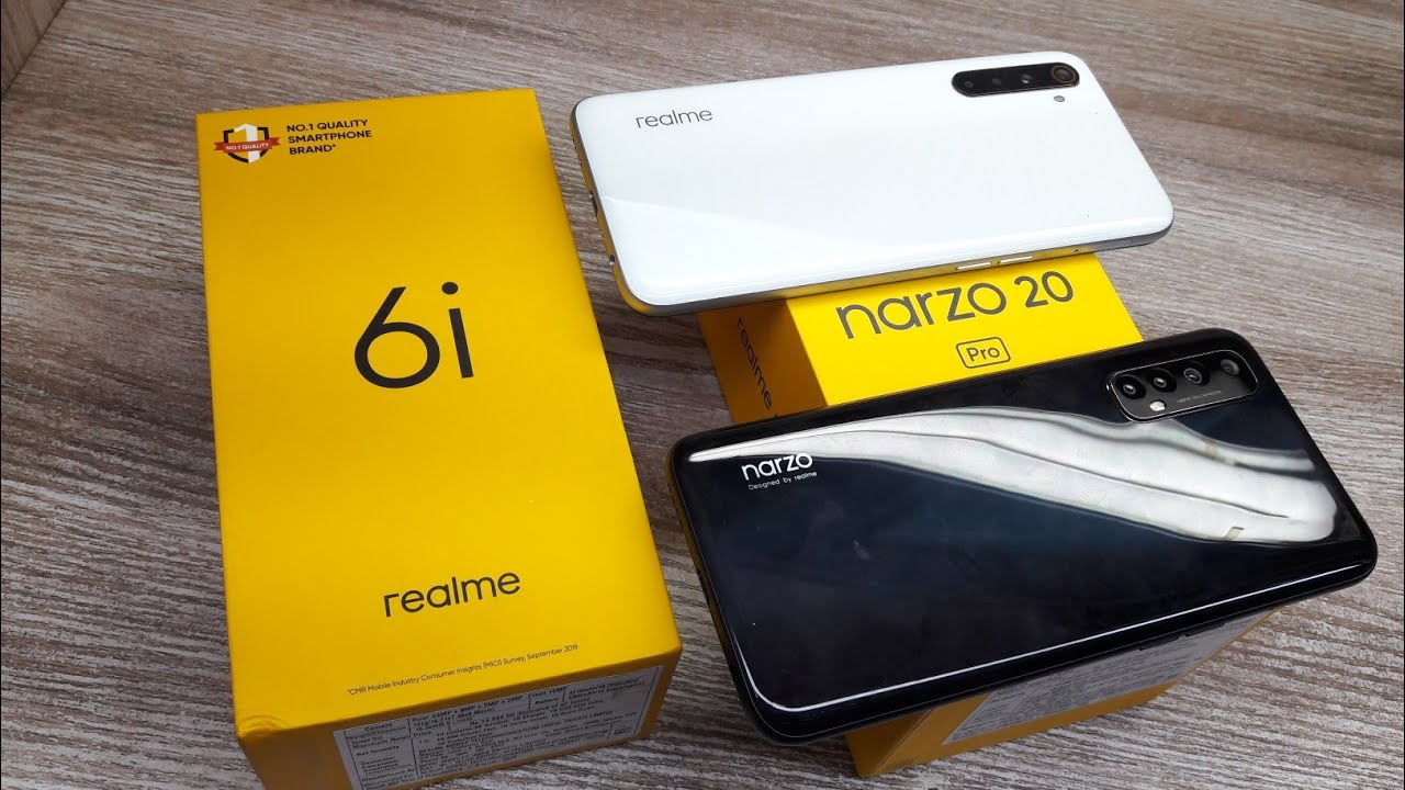 Realme Narzo 20 Pro vs Realme 6i - Which Should You Buy ?