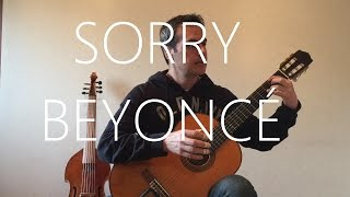 Sorry - Beyoncé - Classical Guitar cover (fingerstyle)