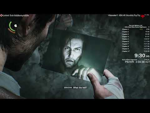 The Evil Within 2 Speedrun Nightmare New Game 2:58:10 Glitchless