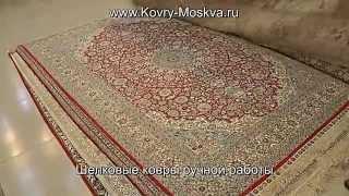 Распродажные цены на шелковые ковры ручной работы www.Kovry-Moskva.ru