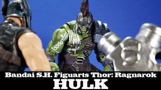 S.H. Figuarts Hulk from Thor: Ragnarok Tamashii Nations Bandai Review