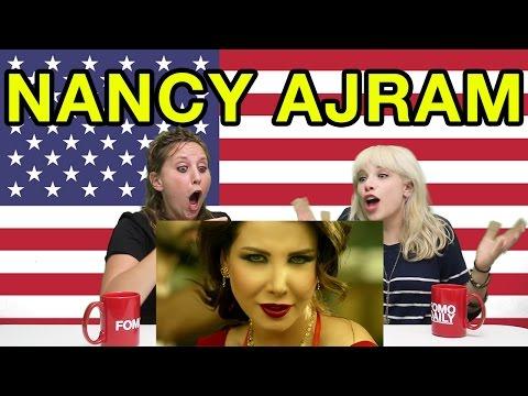 "Fomo Daily Reacts To Nancy Ajram ""Ma Tegi Hena""  [Arabic Subs]"