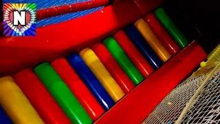 Развлечения для детей Лабиринт, горки,шарики Деревянный корабль с горками и пушками