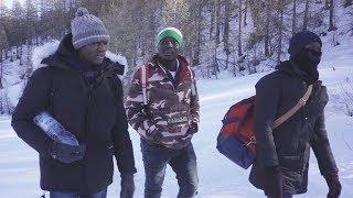 Sulla rotta alpina con i migranti che cercano di entrare in Francia