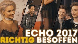 RICHTIG besoffen beim Echo | Sami Slimani, Shirin David, Die Lochis